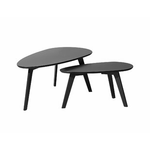 Maliana 2 Piece Nesting Tables (Set of 2) by Ebern Designs