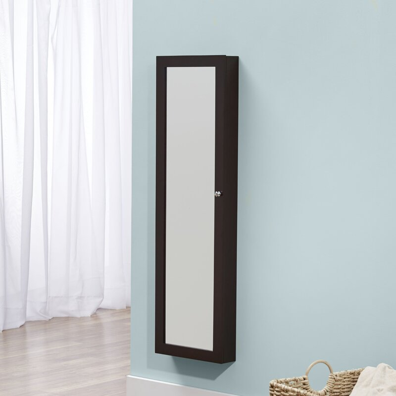 Delicieux Bohdalice Over The Door Jewelry Armoire With Mirror