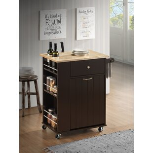 Tarsha Kitchen Cart Winston Porter
