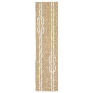 George Hand-Tufted Neutral Indoor/Outdoor Area Rug