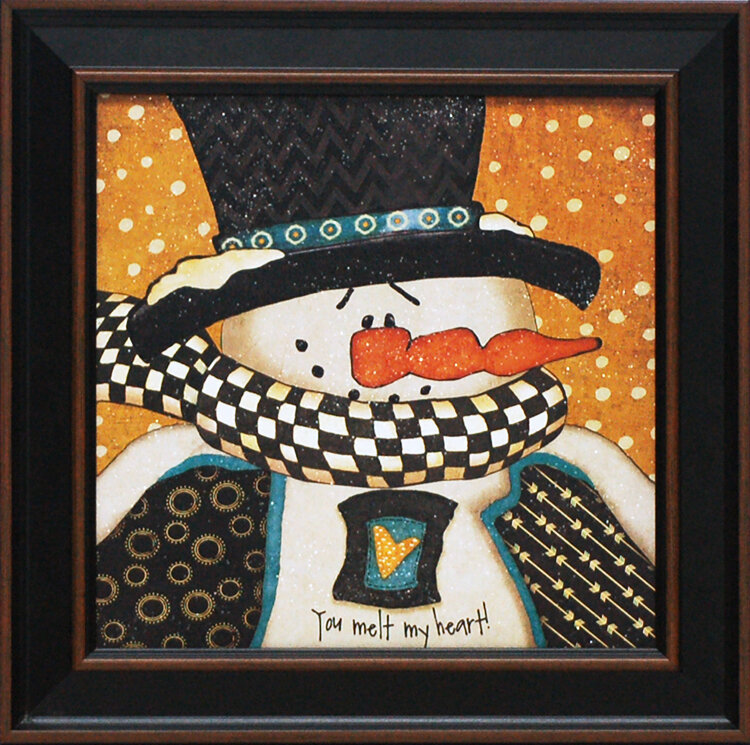 Artistic Reflections You Melt My Heart By Jo Moulton Framed Painting Print Wayfair
