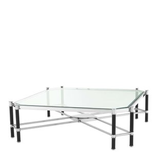 Florence Cross Frame Coffee Table by Eichholtz
