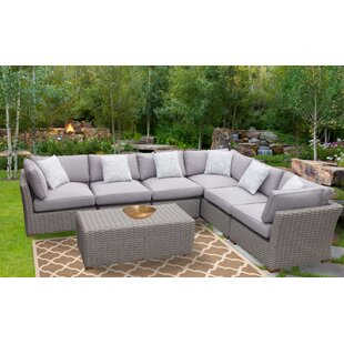 Serina 7 Piece Sectional Set with Cushions
