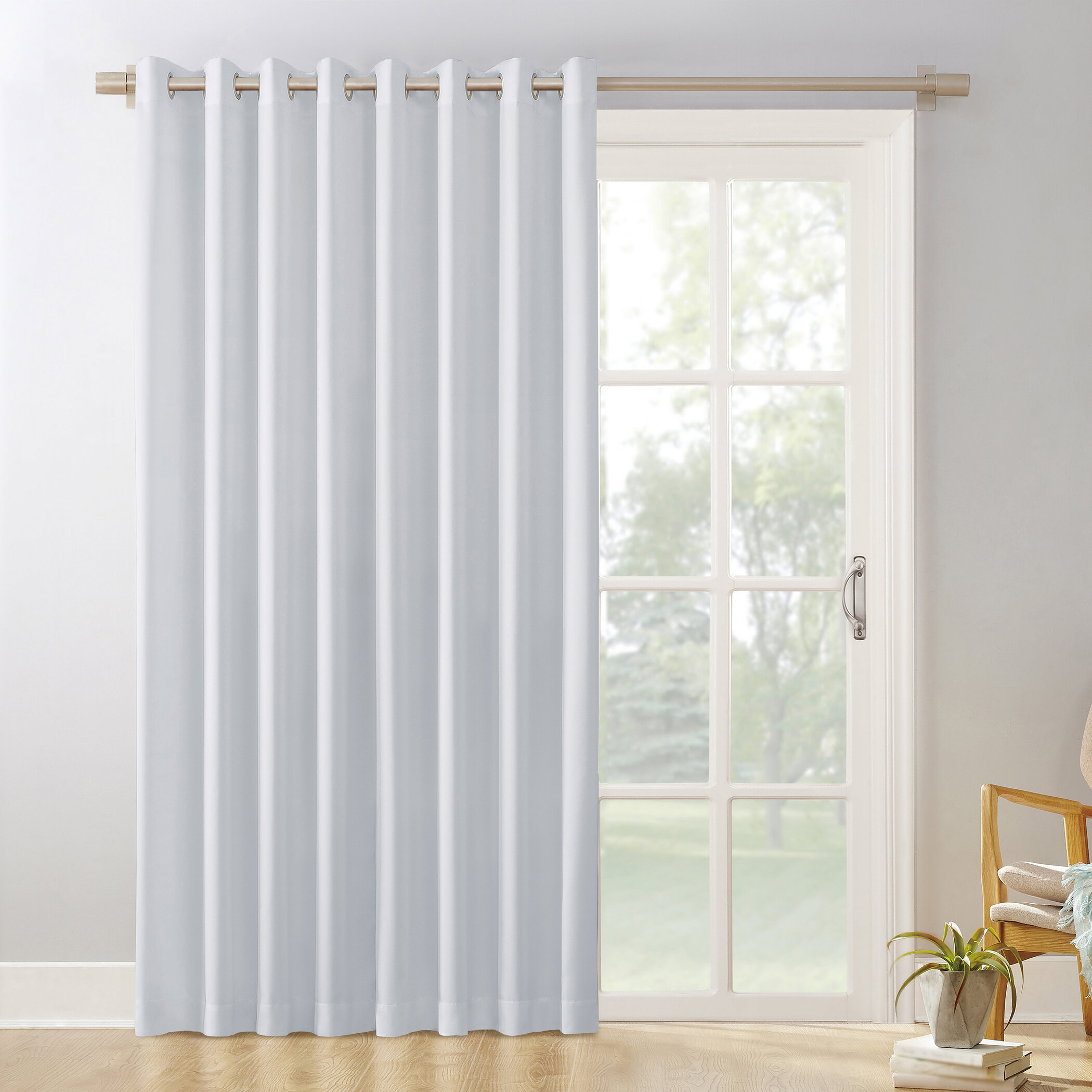 White Curtains Drapes Free Shipping Over 35 Wayfair