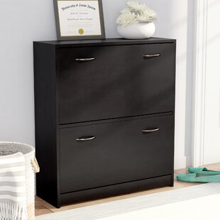 Read Reviews Double Shoe Cabinet By Rebrilliant
