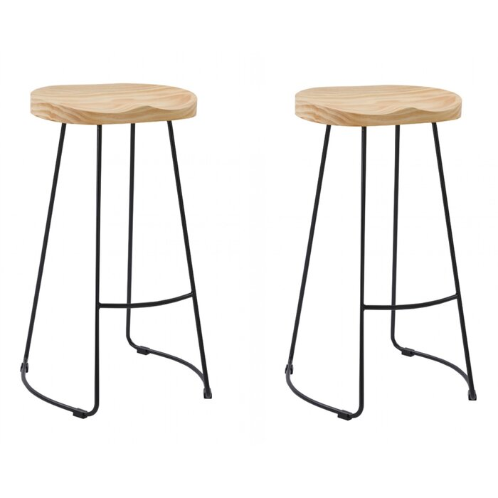 Swell Brophy Modern Bar Stool Caraccident5 Cool Chair Designs And Ideas Caraccident5Info
