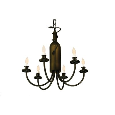Meyda Tiffany Tuscan Vineyard 6-Light Chandelier
