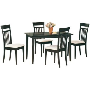 West Hollywood 5 Piece Dining Set Wildon Home®