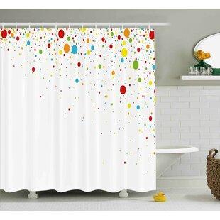 Kirk Spots Like Confetti Shower Curtain