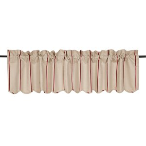 Boucher Scalloped Curtain Valance