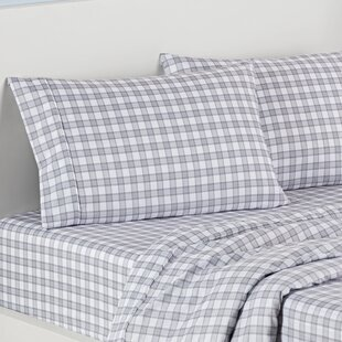 Norfolk Plaid Polyester Sheet Set