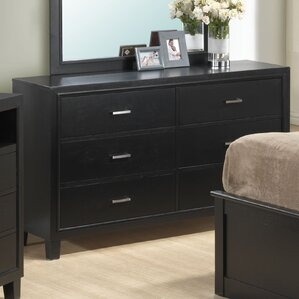 Hoytville 6 Drawer Dresser by Three Posts