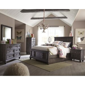 Delpha Panel Configurable Bedroom Set