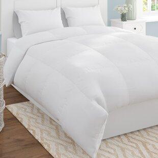 Shop Microfiber Shell Reversible All Season Down Alternative Comforter ByAlwyn Home