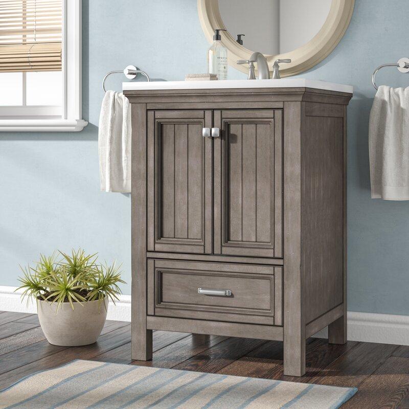 Beachcrest Home Melgar 24 Single Bathroom Vanity Base Only Reviews Wayfair