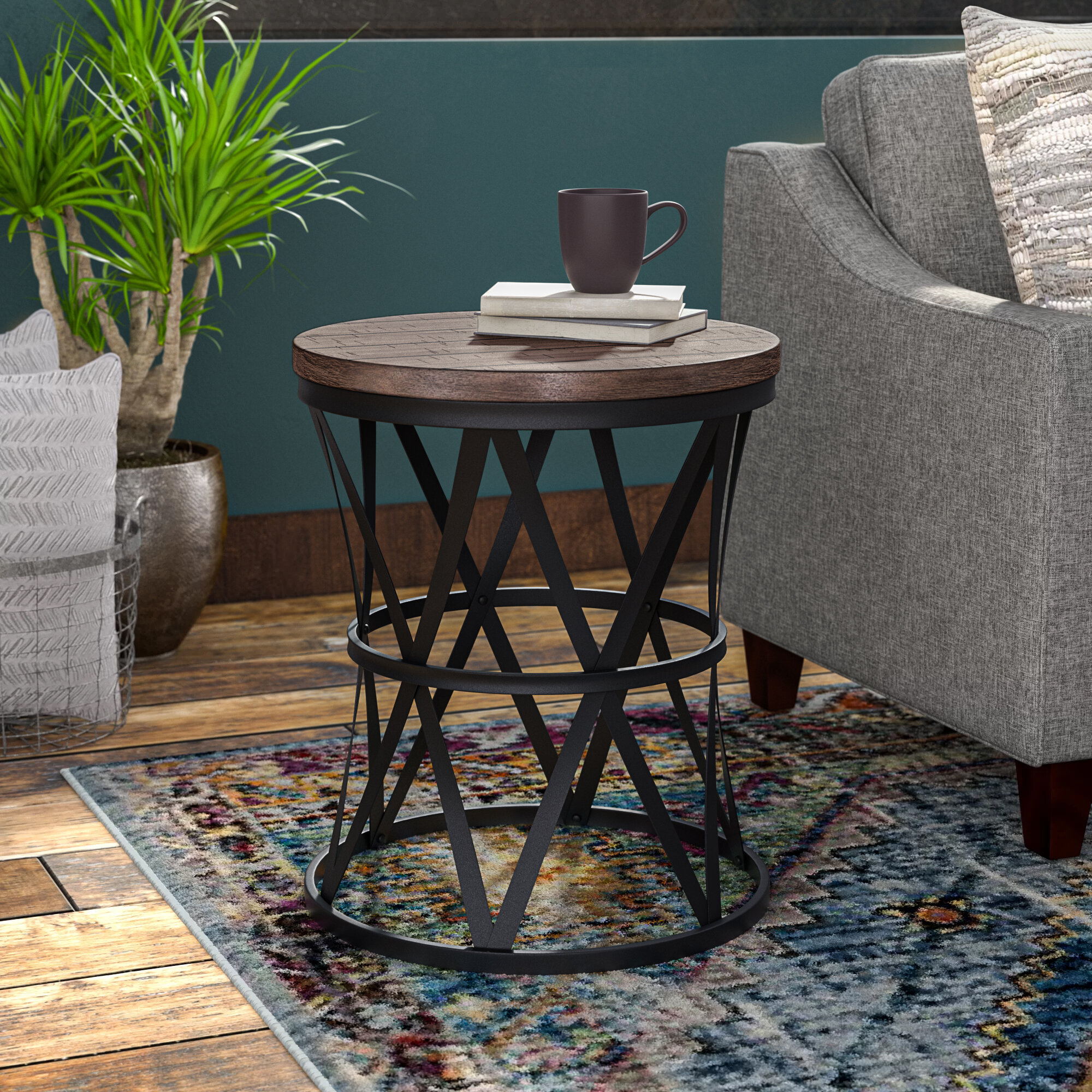 Black End Side Tables Free Shipping Over 35 Wayfair