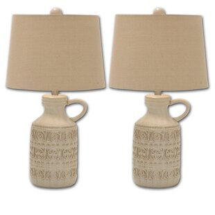 Ceramic Jug 3 Way 26 Table Lamp (Set of 2)