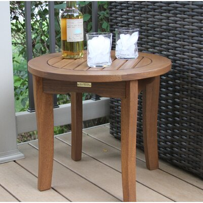 Outdoor Interiors Caravelle Wood Side Table