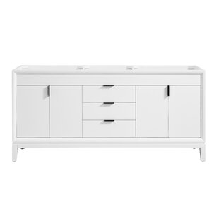 Top Reviews Wigley 72 Double Bathroom Vanity Base Only By Mercury Row