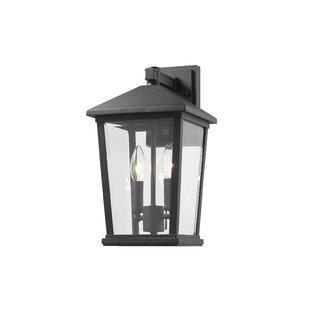 Hageman 2-Light Outdoor Wall Lantern