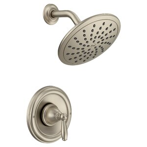 brushed nickel tub and shower faucet set. Save to Idea Board  Chrome Brushed Nickel Shower Faucets You ll Love Wayfair