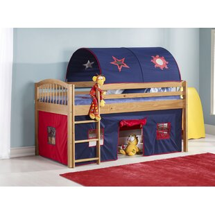 Abigail Twin Low Loft Bed by Zoomie Kids