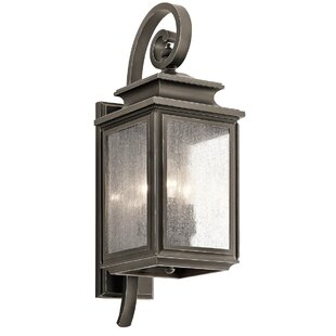 Savings Wiscombe Park 3-Light Outdoor Wall Lantern By Kichler