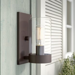 Read Reviews Mount Vernon 1-Light Outdoor Sconce By Laurel Foundry Modern Farmhouse