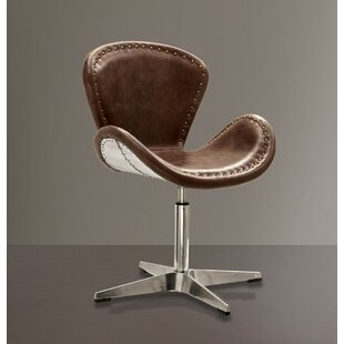 Houston Retro Aluminum Swivel Side Chair