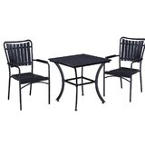 Zion 3 Piece Bistro Set