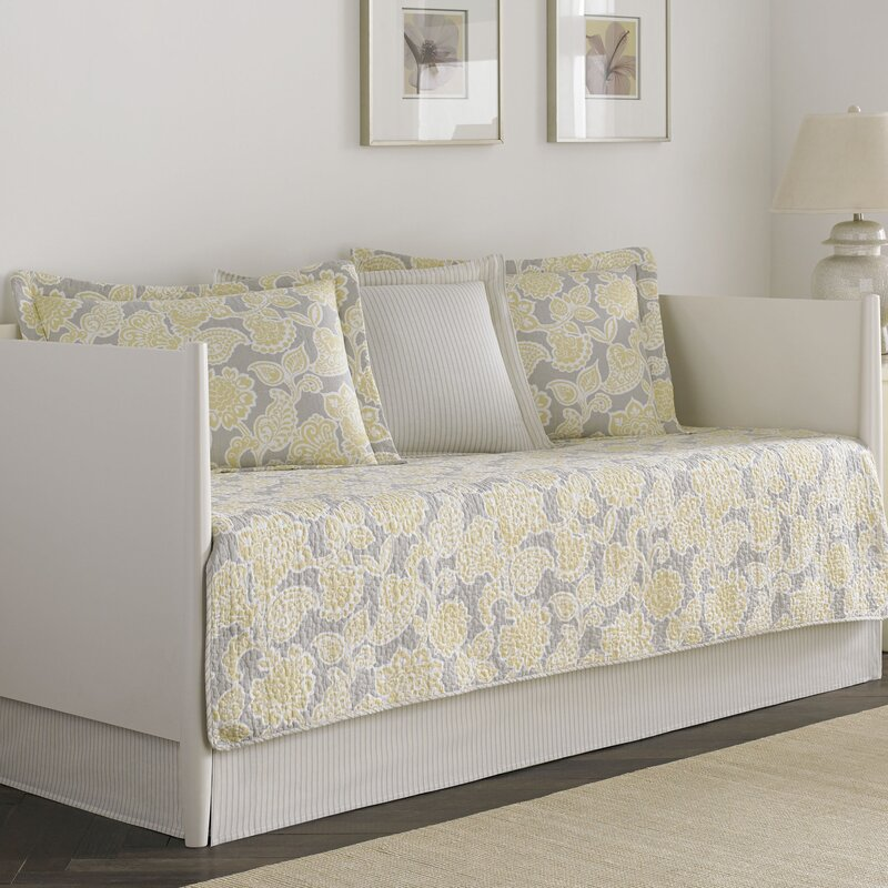 joy 5 piece reversible daybed set by laura ashley home
