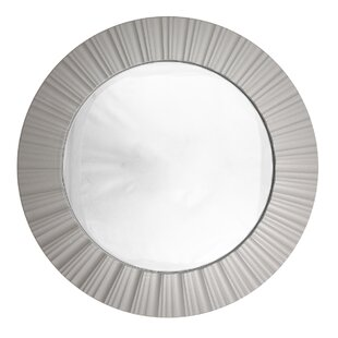 Buying Simply Elegant Fluted Frame Decorative Round Wall Mirror By Northlight Seasonal
