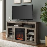 Soza TV Stand for TVs up to 65 with Electric Fireplace Included by Gracie Oaks