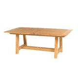 Alvah Extendable Teak Dining Table