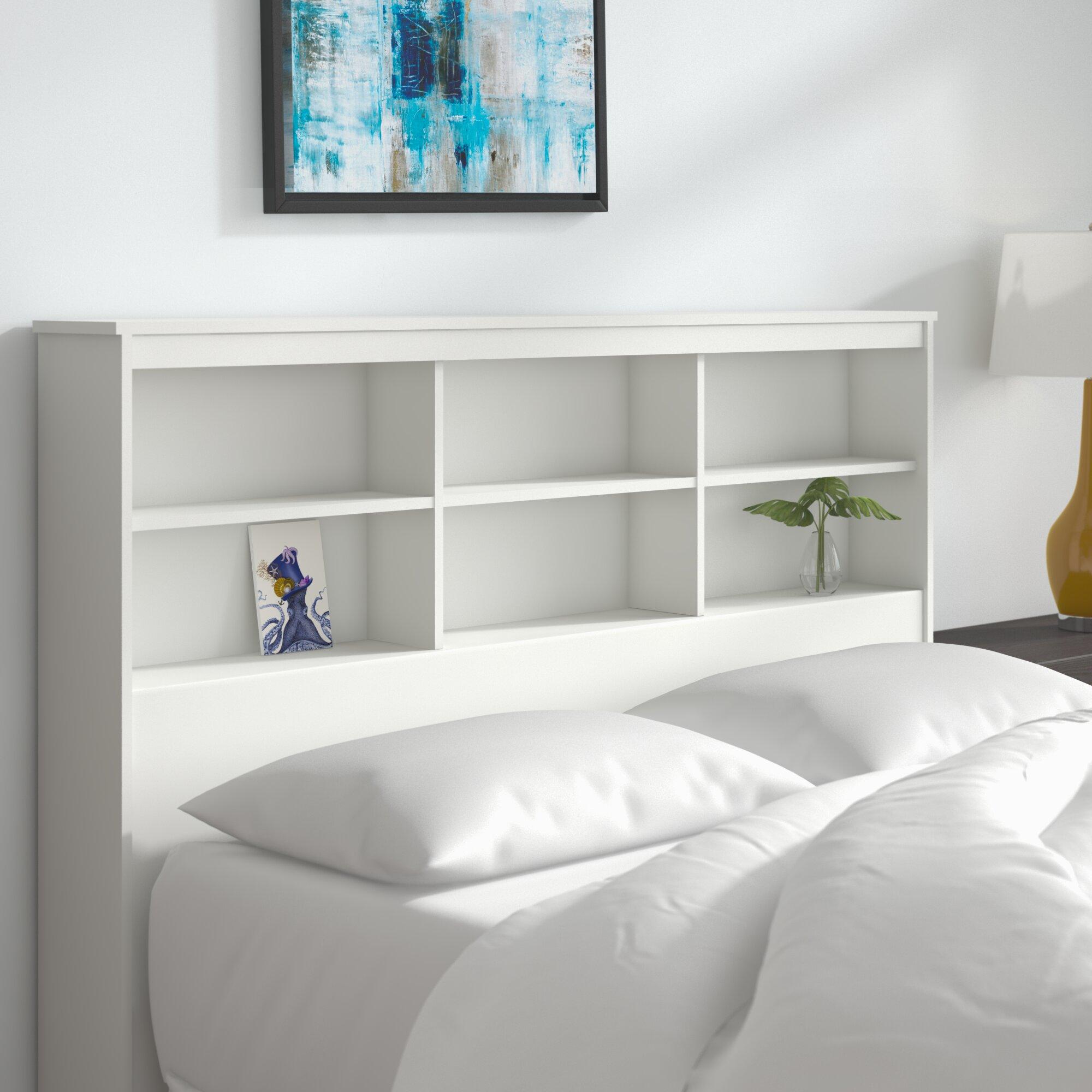 Zipcode Design Grantville Bookcase Headboard Reviews Wayfair