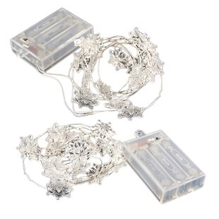 Comparison Battery Operated 20 Light Fairy String Lights with Timer By LumaBase
