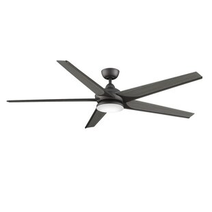 Find the perfect 72 Subtle Weathered Wood 5 Blade Ceiling Fan with Remote By Fanimation