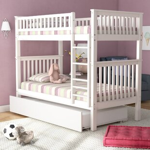 Shultis Twin over Twin Bunk Bed with Trundle