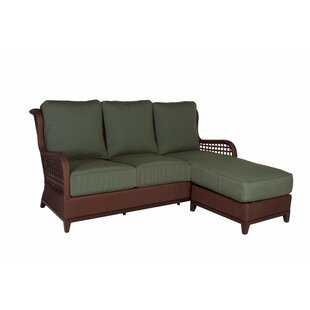 Aberdeen Chaise Lounge Sofa with Cushions