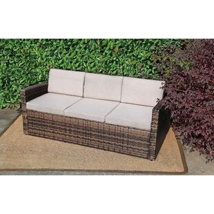 Reign Patio Loveseat with Cushions