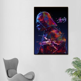 Star Wars Framed Graphic Art Print