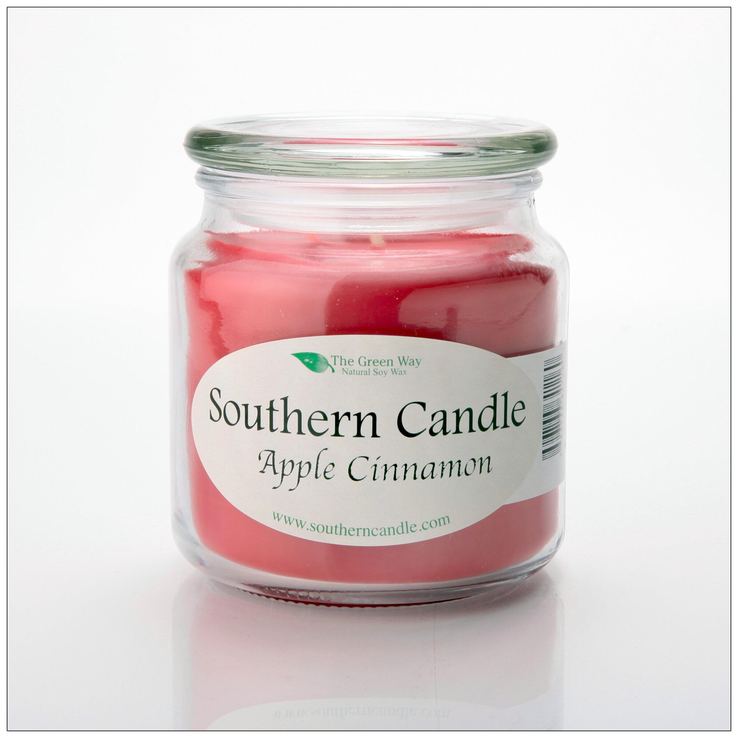 Southerncandleclassics Apple Cinnamon Scented Jar Candle Wayfair