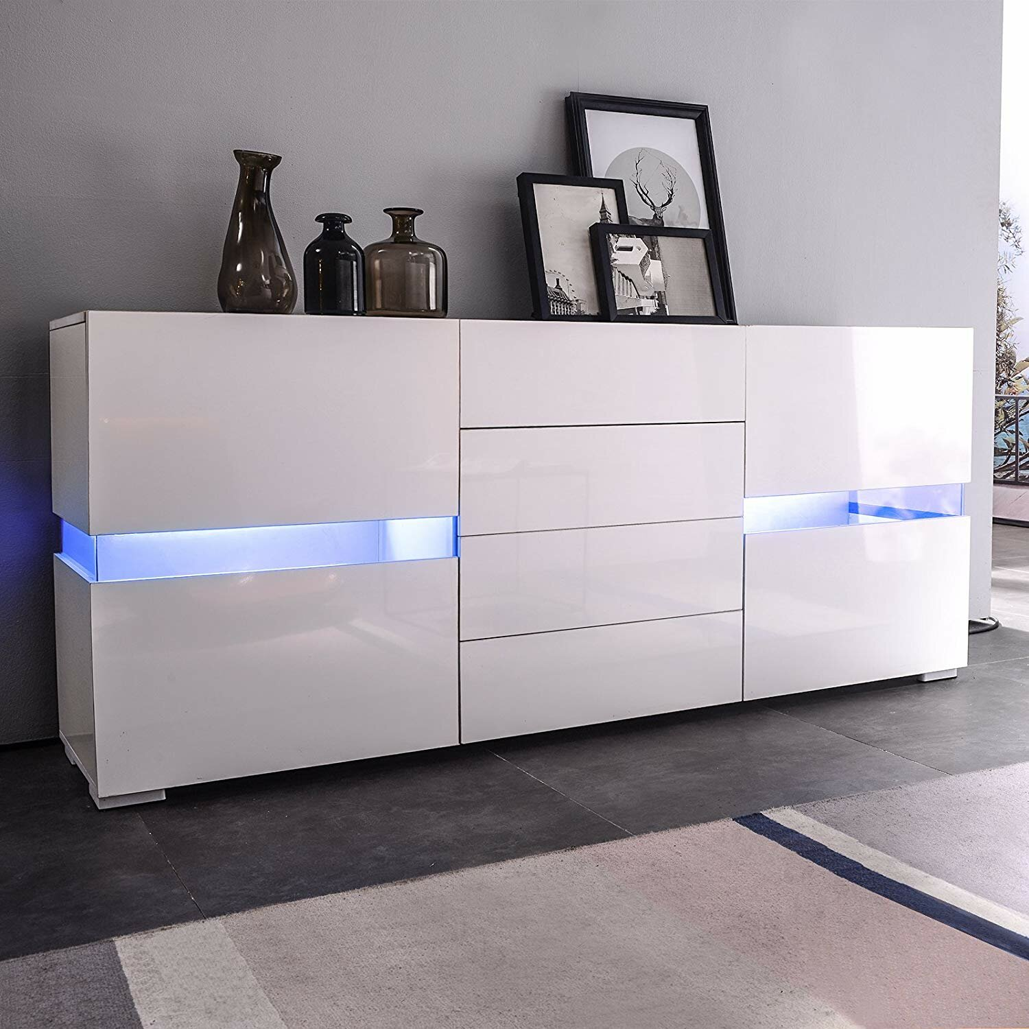 Home & Kitchen Buffets & Sideboards Stackable ...