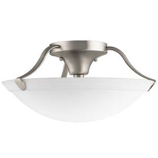Ervin 3-Light Semi Flush Mount