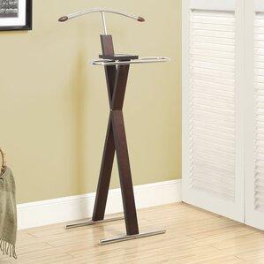 Katrice Metal Bedroom Valet Stand