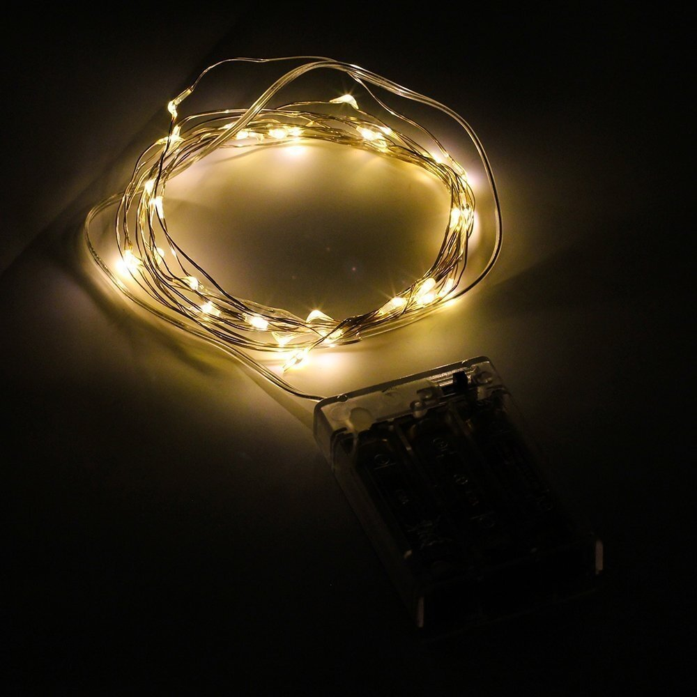The Holiday Aisle 30 Battery Powered String Lights Reviews Wayfair