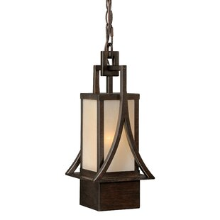 Comparison Port Lincoln 1-Light Outdoor Pendant By Loon Peak