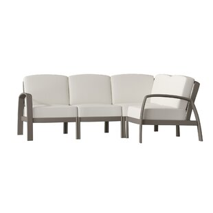 South Beach Sectional Sofa with Cushions