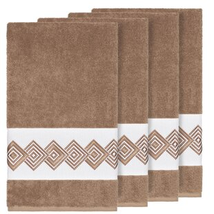 Byron Turkish Cotton Bath Towel (Set of 4)