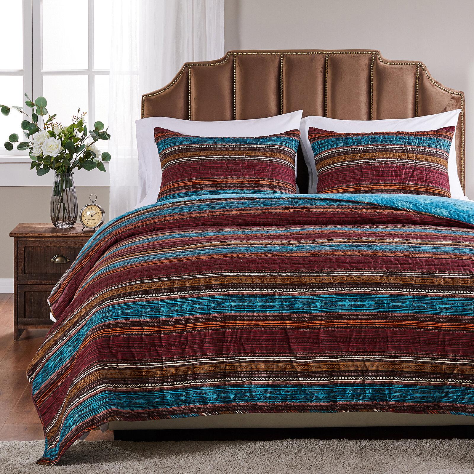 Millwood Pines Bannister Reversible Quilt Set Reviews Wayfair